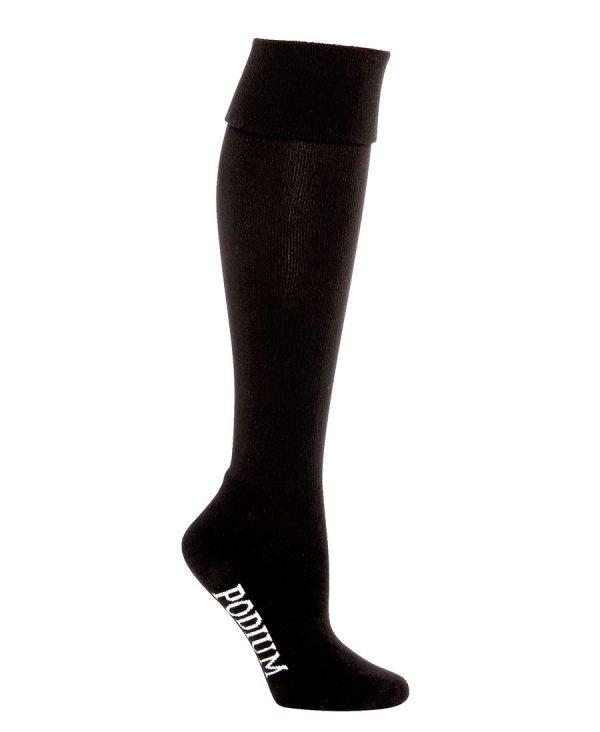 Black Long Sport Socks